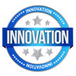 INNOVATION seal — Stock Photo