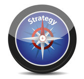 Strategy compass concept — Stock Photo