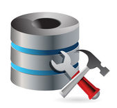 Database optimization and configuration concept — Stock Photo