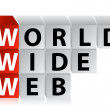 Stock Photo: Word wide web