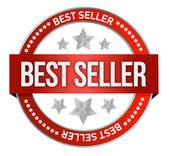 Bestseller label seal — Foto Stock