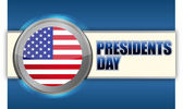 Presidents day sign — Stock Photo