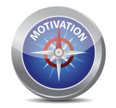 Motivation red word indicated — Stock Photo