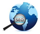 Search engine optimization concept — Stok fotoğraf