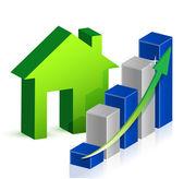 House market Business — Stock Photo