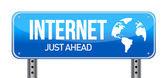 Firma de internet — Foto de Stock