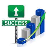 Success sign Business — Stock Photo