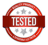 Illustration of tested icon — Stock Photo
