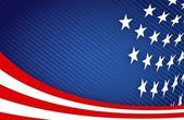 American Flag Design — Stock Photo