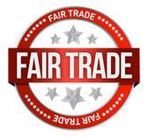Fair Trade Stamp — Stock Photo