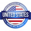 Stock Photo: United States of America, USseal