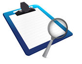 Document under review concept — Stock Photo