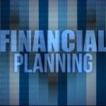 Business concept: words financial planning, — ストック写真 #21201157