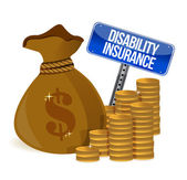 Disability insurance — Stock Photo
