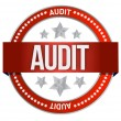 Audit stamp seal — Stock Photo #21649969