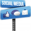 Social media sign - 