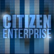 Stock Photo: Citizen enterprise business concept