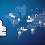 Social media network thumb up — Stock Photo #21912903
