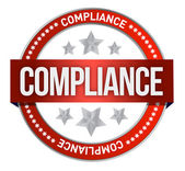 Compliance seal — Stock Photo