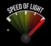 Speed of sound speedometer — Stock Photo