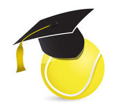 Tennis training school — Stock Photo