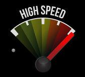 高速测速仪 — 图库照片
