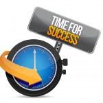 czas na sukces — Zdjęcie stockowe