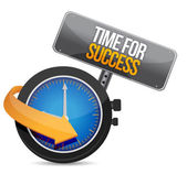 Time for Success — Stock Photo