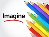 Imagine Multicolored pencils — Stock Photo
