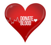 Blood donation medicine help hospital save life — Foto Stock
