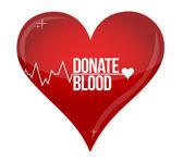 Hospital de ajuda de medicina de doação de sangue salva vida — Foto Stock