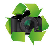 Camera recycle concept — Stock Photo