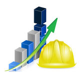 Business construction profits — Stock Photo