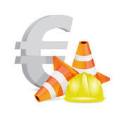 Euro crisis concept illustration design — Stock Photo