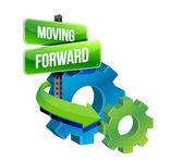Moving forward — Stock Photo