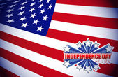 Fourth of july, independence day patriotic — Stock Photo