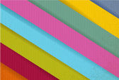 Colorful paper lines ready for your customization. — Stock Photo