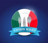 伝統的なメキシコ料理のレストラン、メニュー — Stockfoto