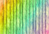 虹色の木材パネル デザイン テクスチャ — ストック写真