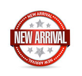 New arrival seal stamp — Stock Photo