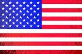 USA. grunge American flag illustration — Stock Photo