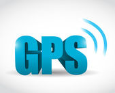 Gps signal concept illustration design — Stock Photo