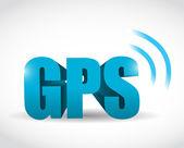 Gps signal concept illustration design — Stock Photo