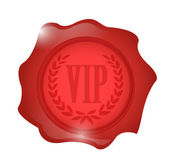 Vip wax seal illustration design — Stock Photo