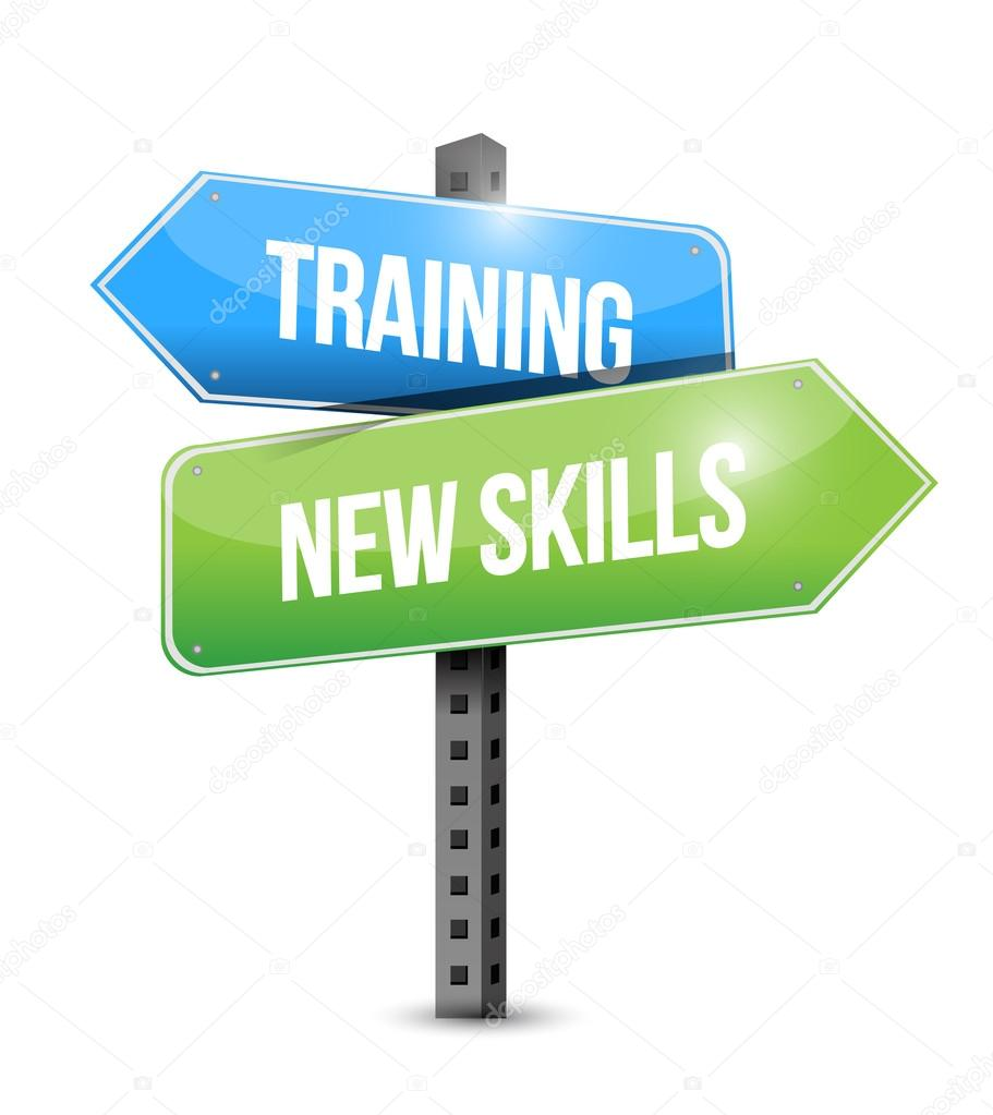 Training New Skills Road Sign Illustration Design — Stock. Slip Signs. Pregnancy Signs Of Stroke. Divorce Signs Of Stroke. Transparent Signs. Aggressive Dog Behavior Signs. Plates Signs. Bleaching Signs. Porcelain Signs