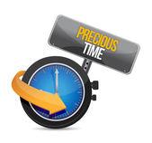 Precioso tiempo para actualizar el reloj — Foto de Stock