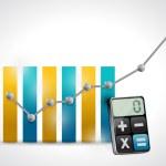Calculating business concept illustration design — Stock Photo #34068275