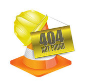 404 not found construction concept illustration — Stock Photo