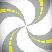 Abstract set of linking roads illustration design — Stock Photo