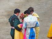 秘鲁-nov 2013: 西班牙斗牛士胡安 · 何塞 · 帕迪拉 — 图库照片